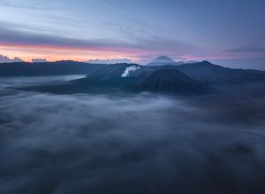 Mont Bromo, Java / Mount Bromo, Java